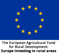 Logo: The European Agricultural Fund for Rural Development: Europe investing in rural areas
